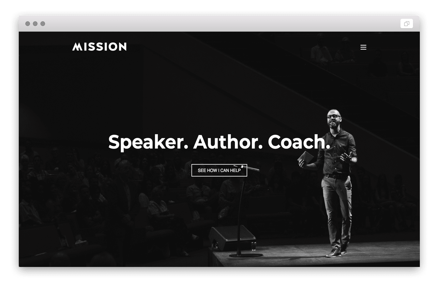 speaker-church-website-builder